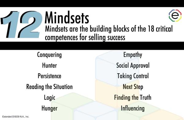 Sales Competence Assessment 12 Mindsets