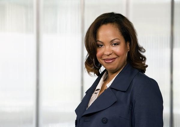 Top management African American female in organizational development