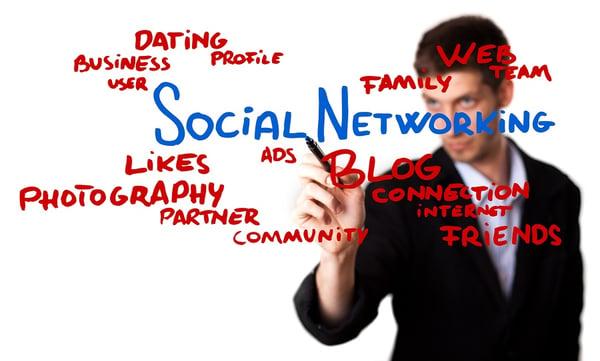 BS Businessman Social Media Net