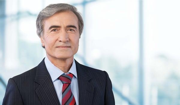 Older Caucasian male Manager in organizational development