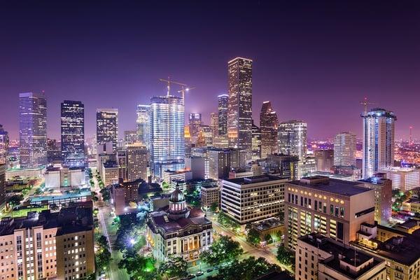 Houston, Texas- USA Downtown skyline