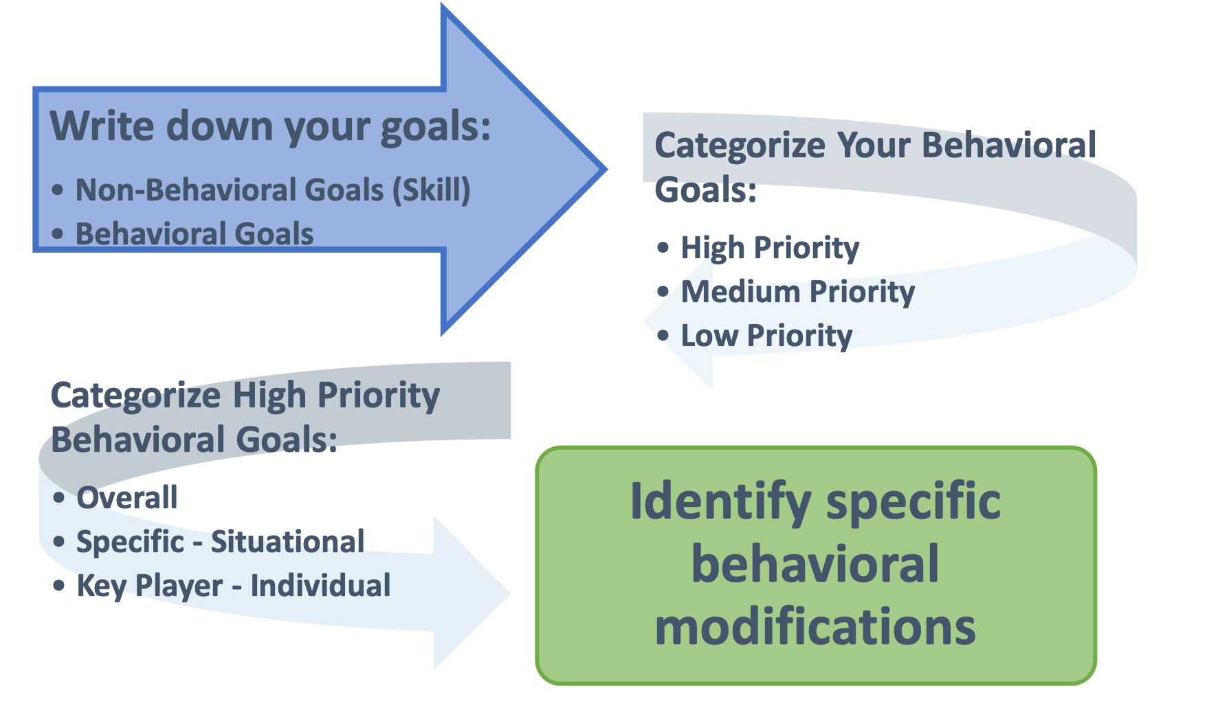 Behavior Action Plan Steps
