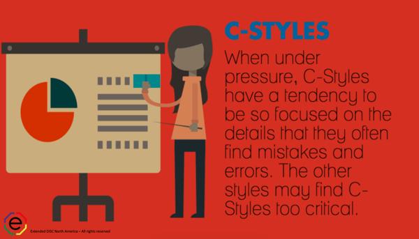 C-styles under pressure infographic