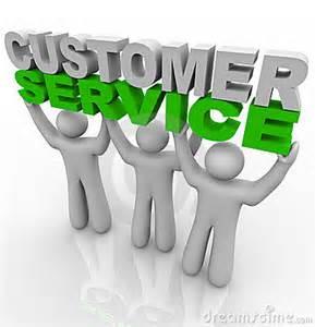 Customer Service Graphic