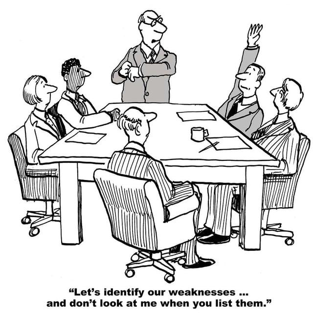 team meeting comic