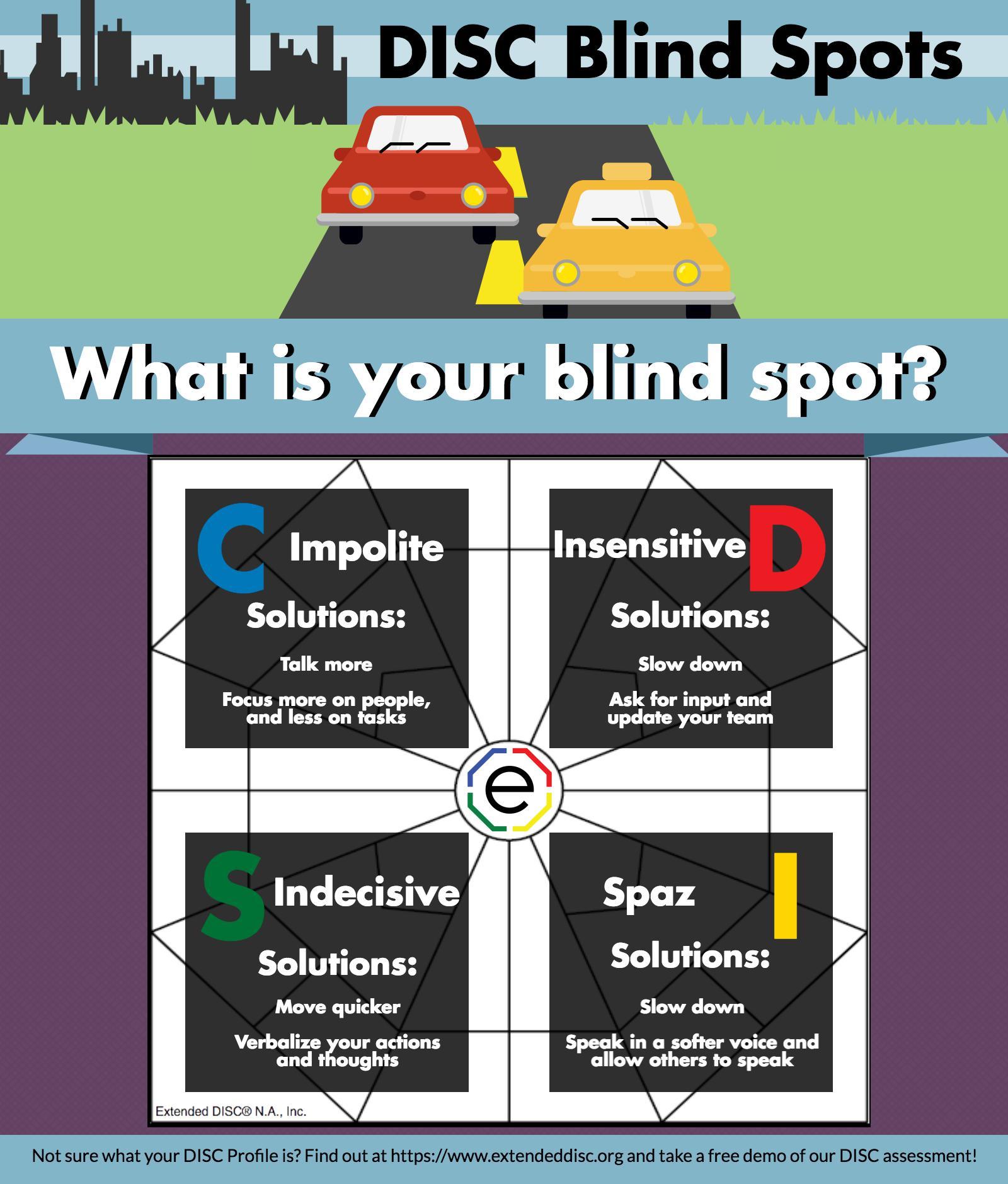 DISC Blind Spots