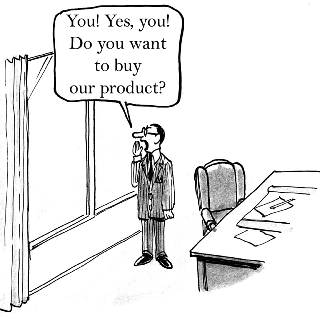 Do you want to buy? cartoon