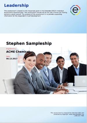 Leadership Cover Screenshot