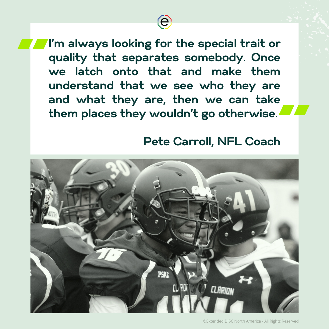 Pete Carroll Sports Quote