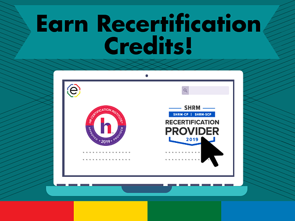 SHRM Recertification and HRCI Recertification Credits with Extended DISC
