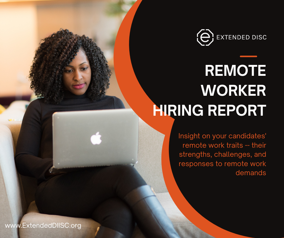 Remote Worker Hiring Report infographici