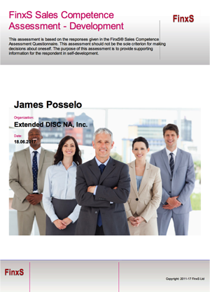 Sales Competence Development Cover page