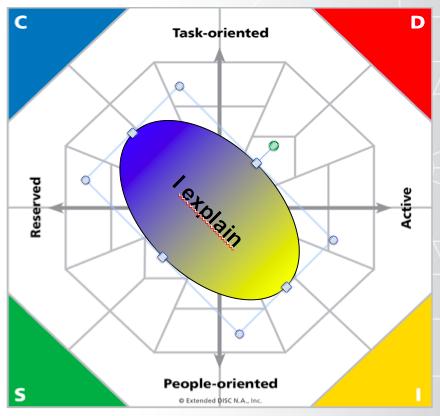 Extended DISC I Communication Basic Profile Type