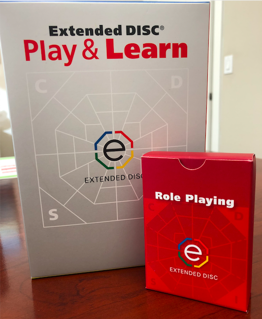 Extended DISC Play & Learn Game Role Playing Deck
