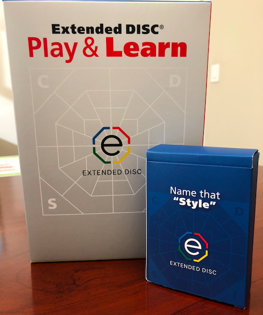 Extended DISC Play & Learn Game Name that Style Deck