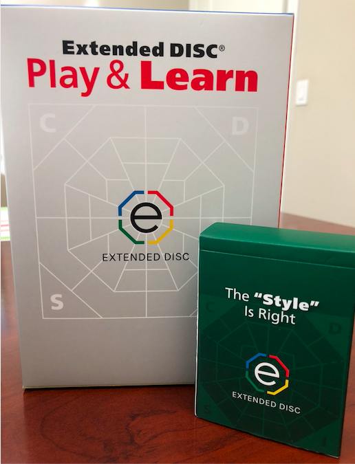 """Extended DISC Play & Learn Game The """"Style"""" is Right Deck"""
