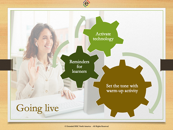 Tips for Engaging Participants Virtually - Going Live
