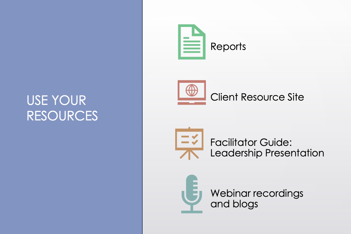 Use your Extended DISC resources infographic